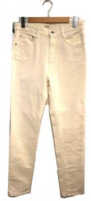 VERMEIL par iena(ヴェルメイユ パー イエナ)の古着「ストレッチホワイトデニム5ポケットスキニーパンツ」