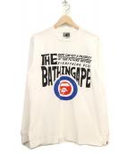 A BATHING APE(ア ベイシング エイプ)の古着「ロンブスリーブプリントTシャツ」