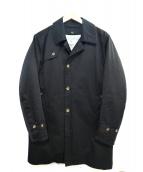 FREAKS STORE(フリークスストア)の古着「ライナー付ステンカラーコート」|ブラック
