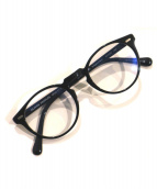 OLIVER PEOPLES(オリバーピープル)の古着「ボストン眼鏡」|ブラック