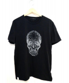 Alexander McQueen(アレキサンダー マックイーン)の古着「スタッズスカルTシャツ」