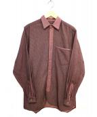 Frank Leder(フランクリーダー)の古着「長袖シャツ」|レッド