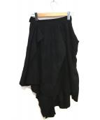 V.W. RED LABEL(ヴィヴィアン ウエストウッド レッドレーベル)の古着「変形デザインスカート」