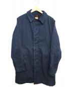 F.O.B FACTORY(エフオービーファクトリー)の古着「デニムコート」|ブルー