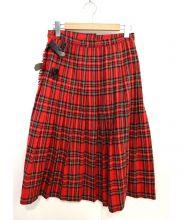 BEAMS BOY(ビームスボーイ)の古着「タータンキルトロングスカート」