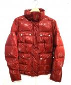 Belstaff(ベルスタッフ)の古着「ダウンジャケット」|レッド