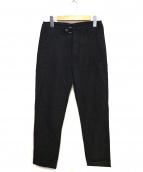 Acne studios(アクネステュディオズ)の古着「レーヨンデザインパンツ」|ブラック