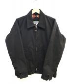 BLUCO WORK GARMENT(ブルコワークガーメント)の古着「中綿ワークジャケット」|ブラック