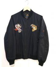 ALPHA(アルファ)の古着「MA-1ジャケット」