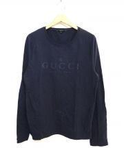 GUCCI(グッチ)の古着「ロゴプリントカットソー」