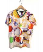 ETRO(エトロ)の古着「プリントデザインTシャツ」