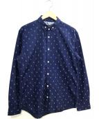 BLACK LABEL CRESTBRIDGE(ブラックレーベルクレストブリッジ)の古着「ラビットドットプリントシャツ」