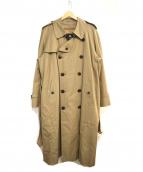 BURBERRY LONDON(バーバリーロンドン)の古着「裏ノヴァチェック柄フリースライナー付トレンチコート」