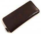 CYPRIS(キプリス)の古着「シラサキレザーラウンドファスナー財布」|ブラウン