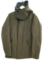 nano&co(ナノアンドコー)の古着「フーデッドコート」 オリーブ