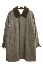 BEAUTY&YOUTH(ビューティアンドユース)の古着「ボアカラーコート」