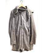 JULIUS(ユリウス)の古着「ウォッシュ加工デニムジャケット」