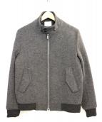 EDIFICE(エディフィス)の古着「ジップジャケット」|グレー