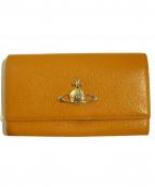 Vivienne Westwood(ヴィヴィアンウエストウッド)の古着「長財布」|オレンジ