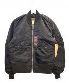 Buzz Ricksons(バズリクソンズ)の古着「MA-1ジャケット」|ブラック