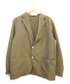 AURALEE(オーラリー)の古着「FINX SILK CHAMBRAY JACKET」
