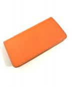 革蛸謹製(カワタコキンセイ)の古着「財布」|オレンジ