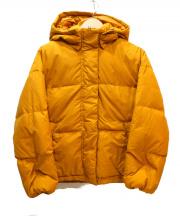 BEAUTY&YOUTH(ビューティーアンドユース)の古着「ショートカラーダウンジャケット」|イエロー