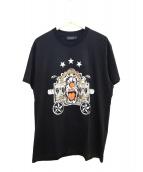 GIVENCHY(ジバンシー)の古着「ピエロプリントTシャツ」|ブラック×レッド