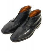 ALDEN(オールデン)の古着「ウィングチップチャッカーブーツ」|ブラック