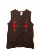 ORTEGAS(オルテガ)の古着「チマヨ柄ベスト」
