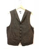 Engineered Garments(エンジニアードガーメンツ)の古着「ウールベスト」 グレー