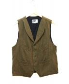 Engineered Garments(エンジニアードガーメンツ)の古着「ウールベスト」 カーキ