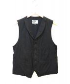 Engineered Garments(エンジニアードガーメンツ)の古着「ウールベスト」 ブラック