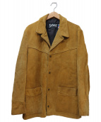 Schott(ショット)の古着「スウェードジャケット」|ベージュ
