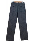 Engineered Garments(エンジニアードガーメンツ)の古着「ヘリンボーンツイードパンツ」|グレー