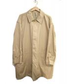 FilMelange(フィルメランジェ)の古着「ステンカラーコート」 ベージュ