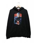 Supreme(シュプリーム)の古着「ヘルレイザーヘルオンアースフーデットスウェットシャツ」|ブラック