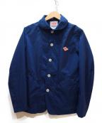 DANTON×BEAMS(ダントン×ビームス)の古着「別注ナイロンタフタカバーオールジャケット」|ネイビー