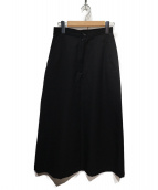 COMME des GARCONS(コムデギャルソン)の古着「80sマキシデザインウールスカート」