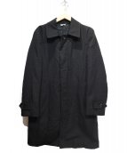 COMME des GARCONS HOMME DEUX(コムデギャルソンオムドゥ)の古着「中綿デザインウールコート」|ブラック