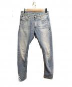 G-STAR RAW(ジースターロゥ)の古着「デニムパンツ」|ブルー