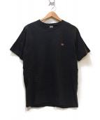Ron Herman(ロンハーマン)の古着「ワンポイント刺繍Tシャツ」|グレー
