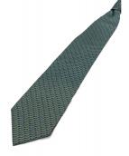 BVLGARI(ブルガリ)の古着「ネクタイ」|グリーン×パープル