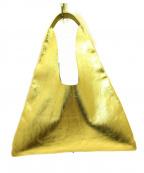 ARRON(アローン)の古着「メタリックくり手バッグ」 ゴールド