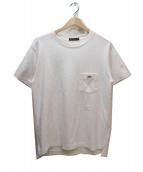 B-SHOP×SCYE(ビショップ×サイ)の古着「別注ポケットTシャツ」|ホワイト×グリーン