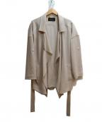 Unaca(アナカ)の古着「ドレープジャケット」|アイボリー