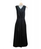 AMERI(アメリヴィンテージ)の古着「ノースリーブワンピース」|ブラック