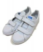 adidas originals(アディダスオリジナル)の古着「ローカットスニーカー」|ホワイト×ブルー