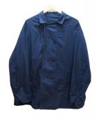 DRESSTERIOR(ドレステリア)の古着「パナクロスブッチャーモデルブルゾン」|ネイビー