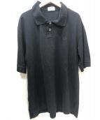 FRED PERRY×MARGARET HOWELL(フレッドペリー×マーガレットハウエル)の古着「別注ポロシャツ」|ブラック